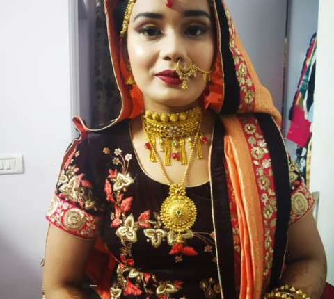 bridal makeup hauz khas
