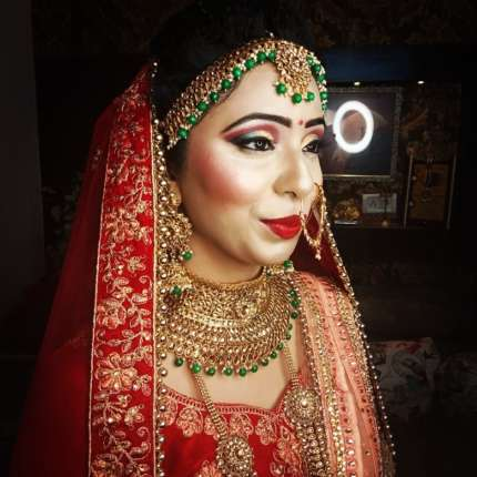 bridal makeup artist in uttam nagar