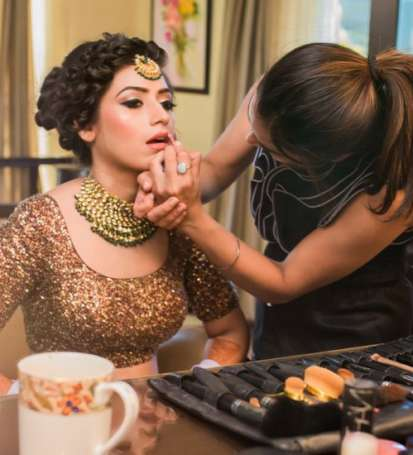 best bridal makeup artist in jaipur