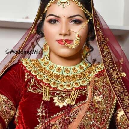 bridal makeup in jaisalmer
